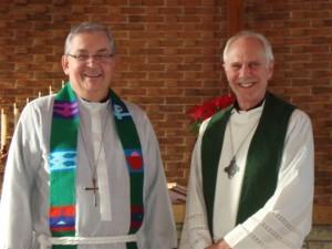Dr. Rutt and Pastor Heidorn