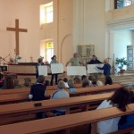 Children in church
